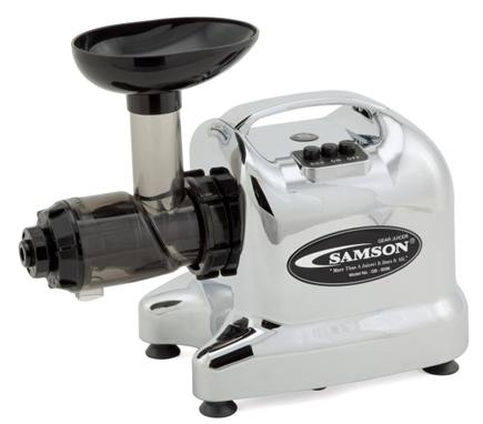 Samson Brands - Advanced Juicer Single Auger Multi-Use Model GB9006 Chrome
