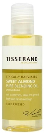 DROPPED: Tisserand Aromatherapy - Pure Blending Oil Sweet Almond Ethically Harvested - 3.3 oz. CLEARANCE PRICED
