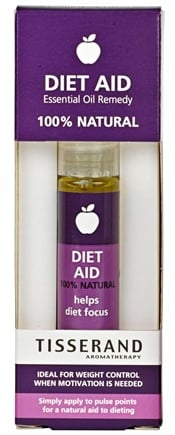 DROPPED: Tisserand Aromatherapy - Roller Ball Diet Aid Essential Oil Remedy - 0.3 oz. CLEARANCE PRICED