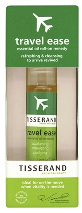 DROPPED: Tisserand Aromatherapy - Roller Ball Travel Ease Essential Oil Remedy - 0.3 oz. CLEARANCE PRICED