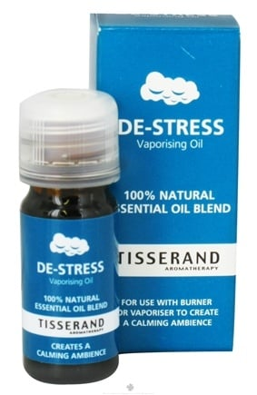 DROPPED: Tisserand Aromatherapy - Vaporizing Oil De-Stress Essential Oil Blend - 0.32 oz. CLEARANCE PRICED
