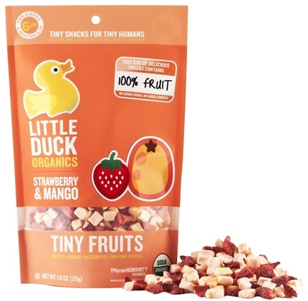 DROPPED: Little Duck Organics - Strawberry Mango Tiny Fruits - 1 oz.