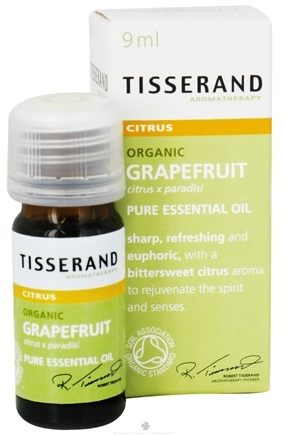 DROPPED: Tisserand Aromatherapy - Pure Essential Oil Grapefruit Organic Citrus - 0.32 oz.