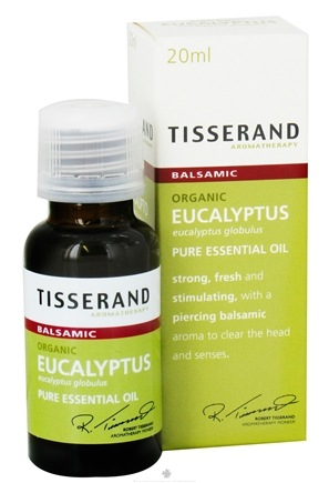 DROPPED: Tisserand Aromatherapy - Pure Essential Oil Eucalyptus Organic Balsamic - 0.68 oz. CLEARANCE PRICED