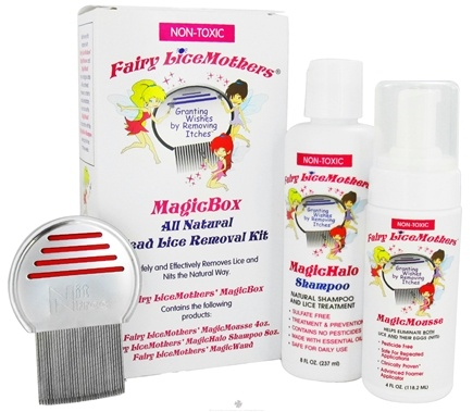 DROPPED: Fairy LiceMothers - MagicBox All Natural Head Lice Removal Kit Non-Toxic - CLEARANCE PRICED