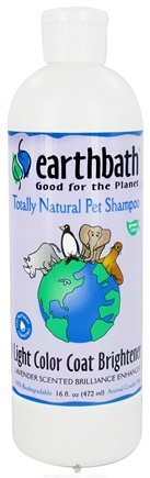 DROPPED: Earthbath - Pet Shampoo Light Color Coat Brightener Lavender - 16 oz. CLEARANCE PRICED