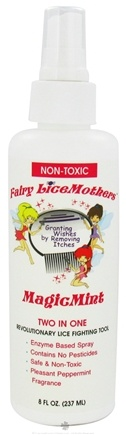 DROPPED: Fairy LiceMothers - MagicMint Two-In-One Non-Toxic - 8 oz. CLEARANCE PRICED