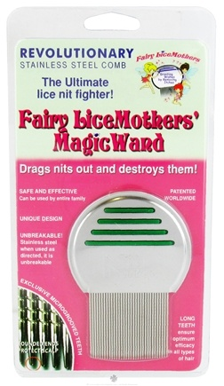 DROPPED: Fairy LiceMothers - MagicWand Lice Comb - 1 Comb - CLEARANCE PRICED