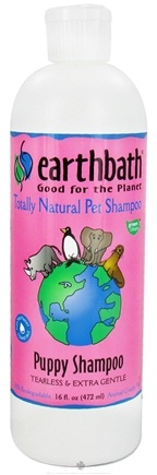 DROPPED: Earthbath - Pet Shampoo Puppy - 16 oz. CLEARANCE PRICED
