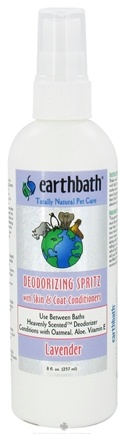 DROPPED: Earthbath - Between Bath Spritz Deodorizing With Skin & Coat Conditioners Lavender - 8 oz.