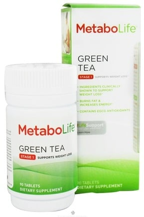 DROPPED: MetaboLife - Green Tea Stage 1 Weight Loss Support - 90 Tablets CLEARANCE PRICED