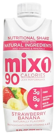 DROPPED: Mix1 - All-Natural Protein Shake RTD Strawberry-Banana - 11 oz.