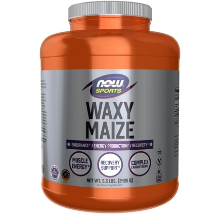 NOW Foods - Waxy Maize 100% Pure Powder - 5.5 lbs.