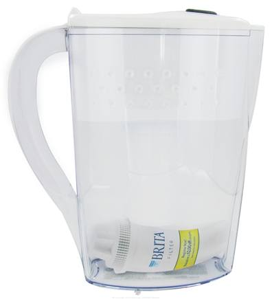 DROPPED: Brita - Pitcher Water Filtration System Space Saver Model 6 Cups - 48 oz. CLEARANCE PRICED