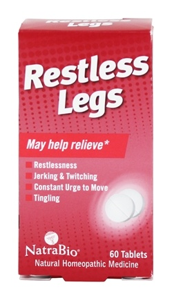 NatraBio - Restless Legs - 60 Tablets