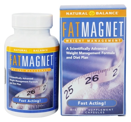 Natural Balance - Fat Magnet Fast Acting Weight Management - 72 Capsules