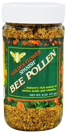 DROPPED: Golden Flower - Spanish Bee Pollen - 8 oz. CLEARANCE PRICED