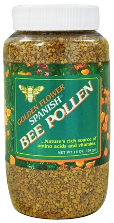 DROPPED: Golden Flower - Spanish Bee Pollen - 16 oz. CLEARANCE PRICED
