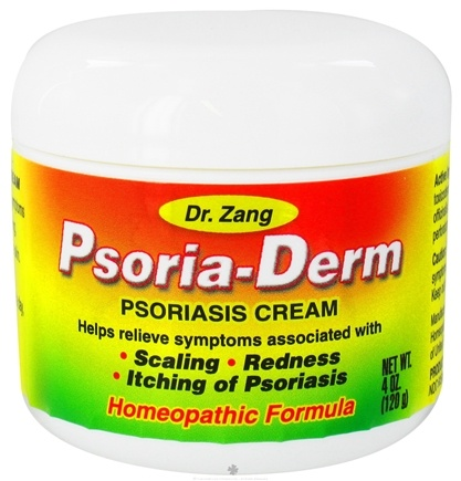DROPPED: Dr. Zang - Homeopathic Psoria-Derm Psoriasis Cream - 4 oz. CLEARANCE PRICED