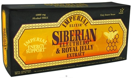 DROPPED: Imperial Elixir - Siberian Eleuthero Extract & Royal Jelly - 30 Bottle(s) CLEARANCE PRICED