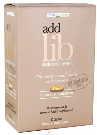 DROPPED: Dream Brands - Add Lib Libido Enhancement for Women - 60 Capsules formerly Oceanus Naturals