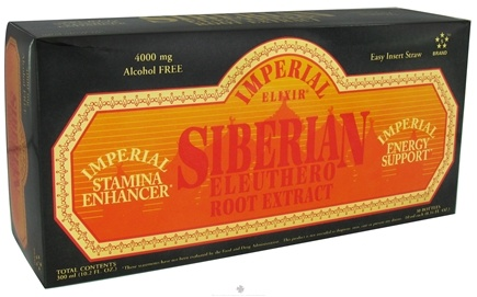 DROPPED: Imperial Elixir - Siberian Eleuthero Extract - 30 Bottle(s) CLEARANCE PRICED