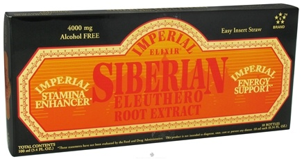 DROPPED: Imperial Elixir - Siberian Eleuthero Extract - 10 Bottle(s) CLEARANCE PRICED
