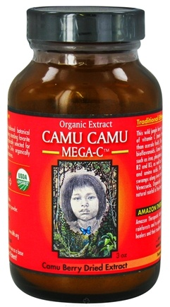 DROPPED: Amazon Therapeutic Laboratories - Camu Camu Mega C Camu Berry Dried Extract - 3 oz.