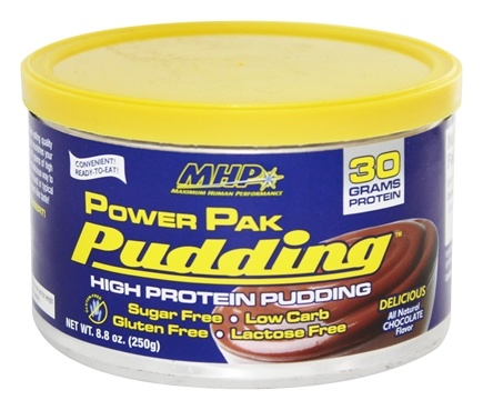 MHP - Power Pak Pudding Chocolate Flavor - 8.8 oz.