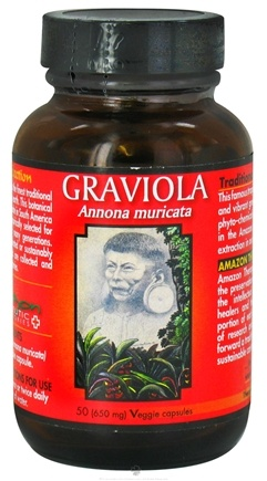 DROPPED: Amazon Therapeutic Laboratories - Graviola - 50 Vegetarian Capsules