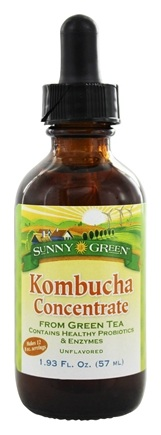 DROPPED: Sunny Green - Kombucha Concentrate From Green Tea Unflavored - 1.93 oz.