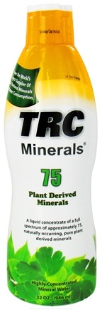 DROPPED: TRC Nutritional Labs - 75 Plant Derived Minerals Highly-Concentrated Mineral Water - 32 oz.