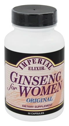 DROPPED: Imperial Elixir - Ginseng For Women - 50 Capsules
