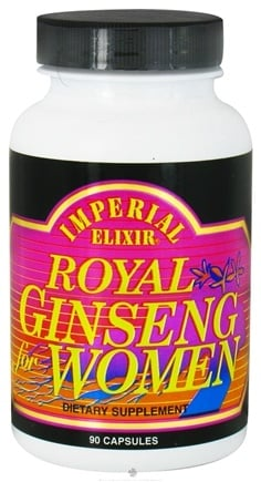 DROPPED: Imperial Elixir - Royal Ginseng For Women - 90 Capsules CLEARANCE PRICED