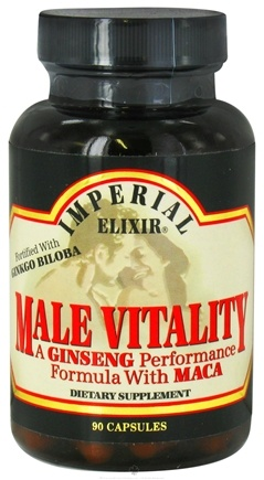 DROPPED: Imperial Elixir - Male Vitality - 90 Capsules CLEARANCE PRICED