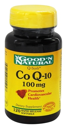 DROPPED: Good 'N Natural - Q-Sorb Co Q-10 100 mg. - 120 Softgels