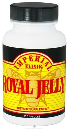 DROPPED: Imperial Elixir - Royal Jelly 50 mg. - 50 Capsules CLEARANCE PRICED