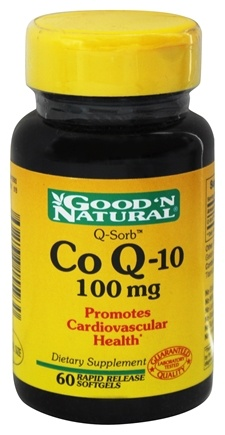 Good 'N Natural - Q-Sorb Co Q-10 100 mg. - 60 Softgels