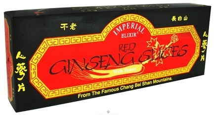 DROPPED: Imperial Elixir - Red Ginseng Slices With Honey - 7 oz. CLEARANCE PRICED