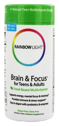 Rainbow Light - Brain & Focus Multivitamin - 90 Tablets