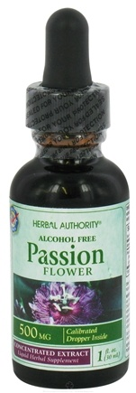 DROPPED: Herbal Authority - Passion Flower 500 mg. - 1 oz. CLEARANCE PRICED