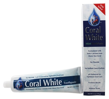 Coral LLC - Coral White Toothpaste with Xylitol Mint - 6 oz.