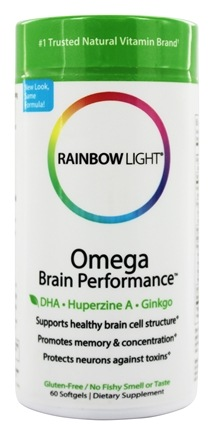Rainbow Light - Omega Brain Performance - 60 Softgels