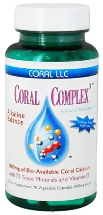 DROPPED: Coral LLC - Coral Complex 3 900 mg. - 90 Vegetarian Capsules CLEARANCE PRICED