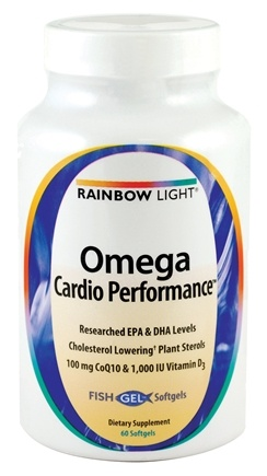 DROPPED: Rainbow Light - Omega Cardio Performance - 60 Softgels