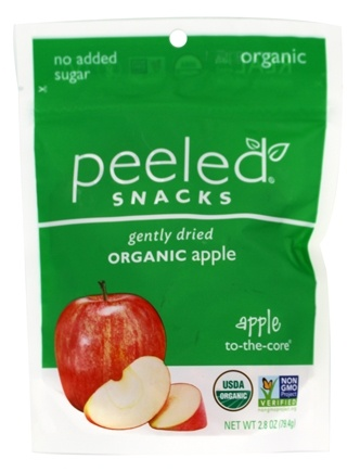 Peeled Snacks - Organic Fruit Picks Apple-2-The-Core - 2.8 oz.