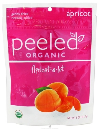 DROPPED: Peeled Snacks - Organic Fruit Picks Apricot-a-lot - 5 oz. CLEARANCE PRICED