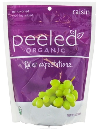 DROPPED: Peeled Snacks - Organic Fruit Picks Raisin Expectations - 8.4 oz. CLEARANCE PRICED