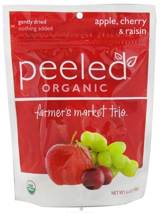 DROPPED: Peeled Snacks - Farmer's Market Trio Organic Fruit Picks - 4.4 oz. CLEARANCE PRICED