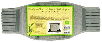 "DROPPED: The Healing Tree - Bamboo Charcoal Lower Back Support Size L/XL Fits 40"" -57"" Waist - CLEARANCE PRICED"